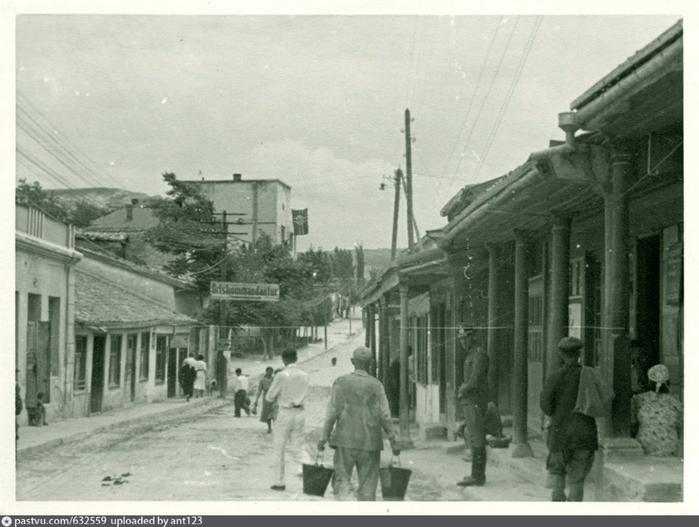 Ортскомендатура в Бахчисарае 1942 - 1943р (700x527, 262Kb)