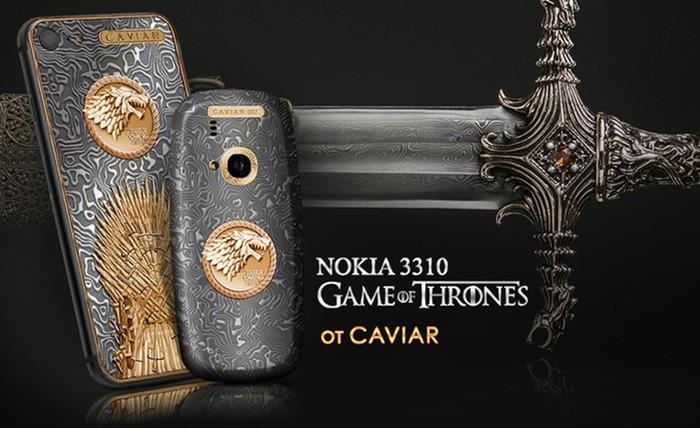 iPhone 7 и Nokia 3310 в стиле «Игры Престолов»
