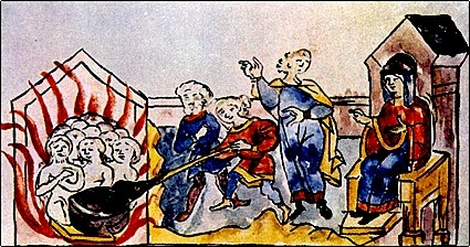 Как княгиня Ольга наказала древлян за убийство мужа