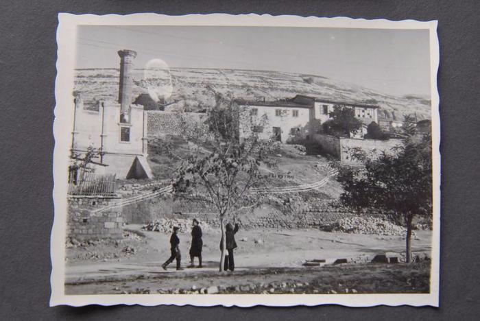 Ешиль джами. Вид во время войны (700x468, 267Kb)