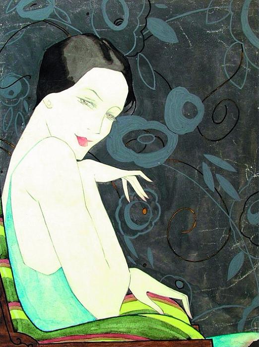 Dama u fotelji, 1928. (522x700, 430Kb)