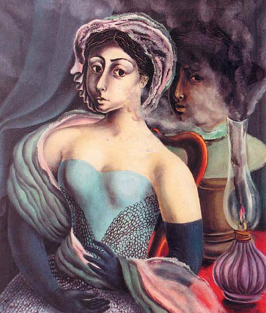 devojka sa lampom, 1935_ ulje na platnu (544x640, 316Kb)