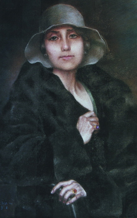 Portret majke, 1931.. (441x700, 82Kb)