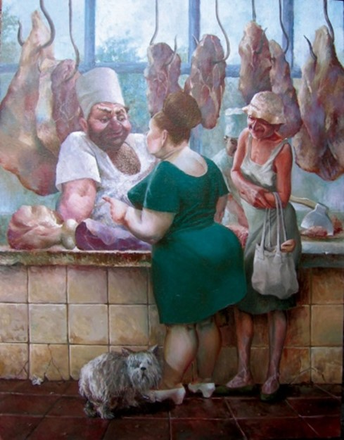 Український колорит в картинах художника Олександра Іванова