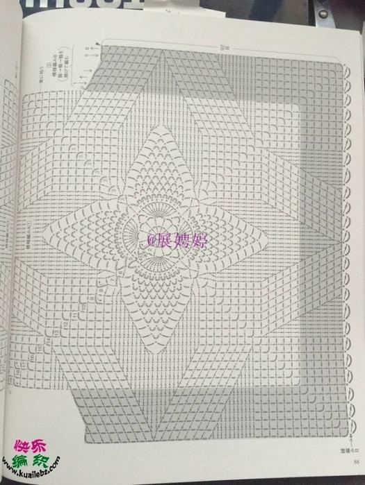 Вязание крючком. Жилет. схема вязания крючком/3071837_374 (525x700, 257Kb)