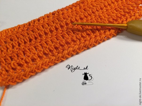как обработать край вязаного изделия крючком