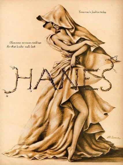 Хейнс (чулочно-носочные изделия). 1944.. (426x569, 258Kb)