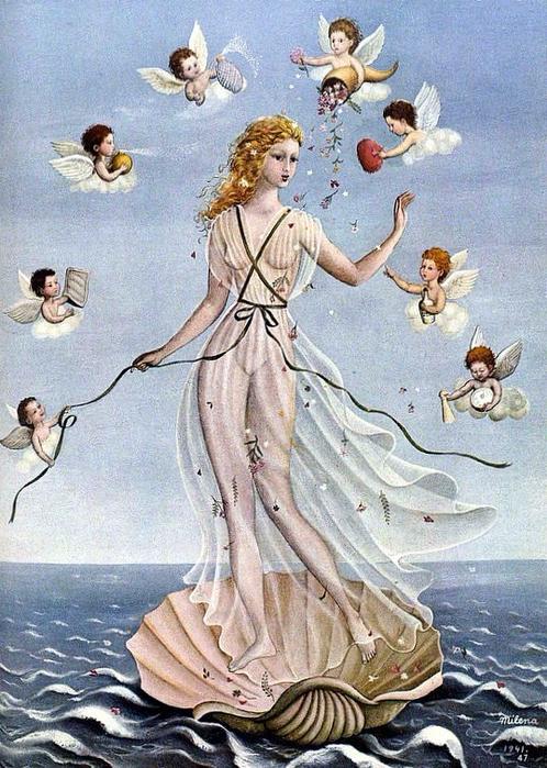 Ванна Венеры. 1941 (498x700, 466Kb)