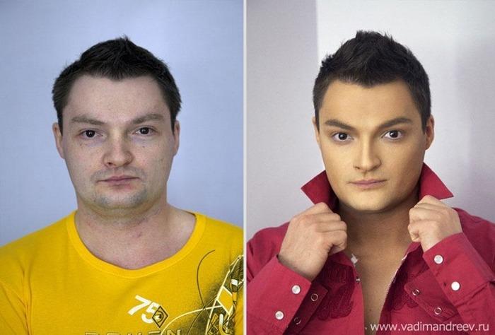 Визажист Вадим Андреев меняет людей до неузнаваемости!