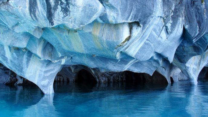 3. Мраморные пещеры, Чили (688x387, 257Kb)