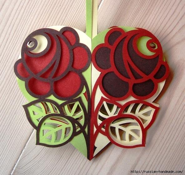 Ажурное цветочное сердце из бумаги (5) (592x561, 338Kb)