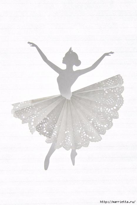 Балеринки из бумаги и салфеток (5) (466x700, 198Kb)