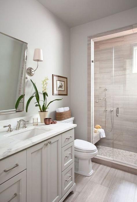 7 идей интерьера для небольших ванных комнат