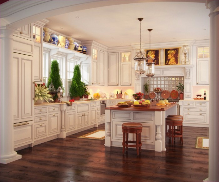 Фото красивых дизайнов кухни