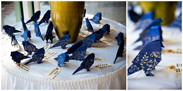 Птичка оригами   МК
