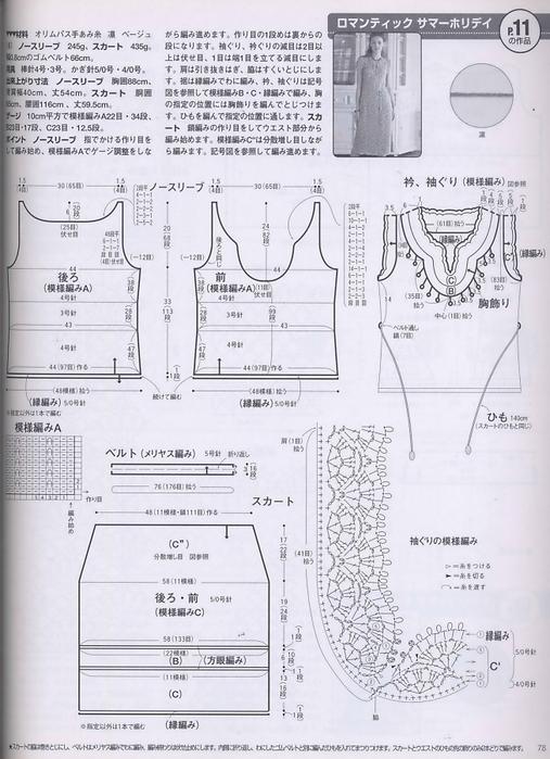 Вязание крючком. Платье. схема вязания/3071837_122 (507x700, 243Kb)