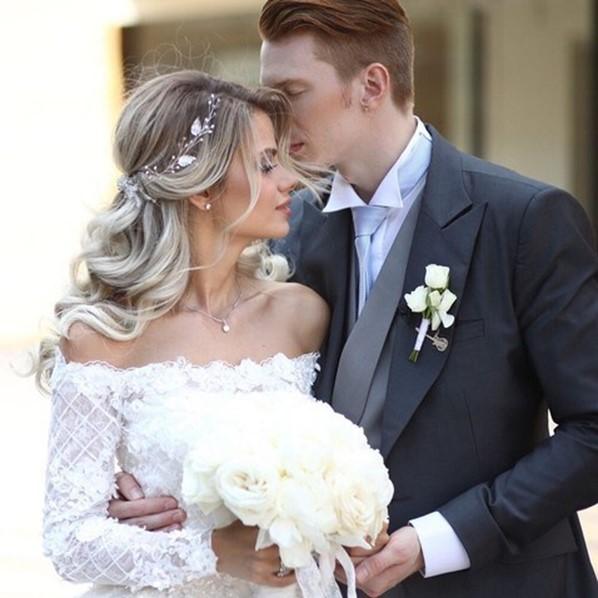 На ком женился внук Аллы Пугачевой? Фотографии Алены Красновой и Никиты Преснякова