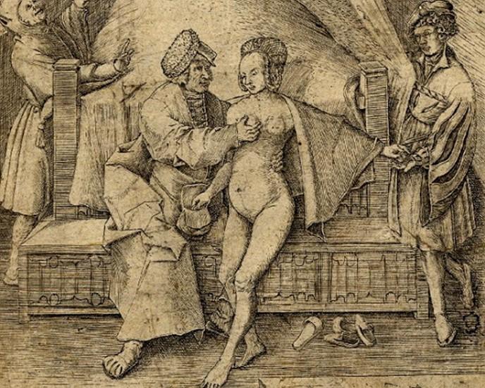 Как наказывали женщин в Средневековье