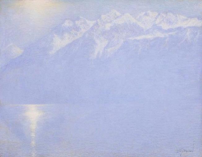 Озеро Леманен, 1925 (652x508, 186Kb)