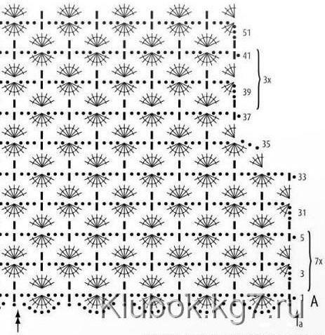 Пуловер связанный крючком с подробной схемой вязания./3071837_225 (463x477, 70Kb)