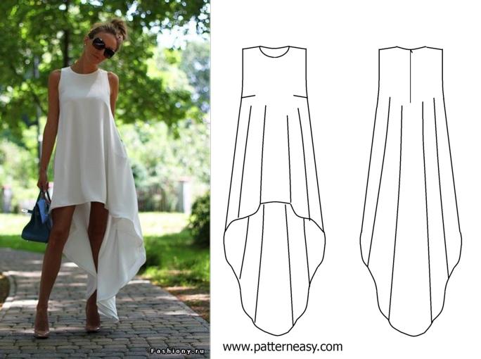 Как ушить платье своими руками