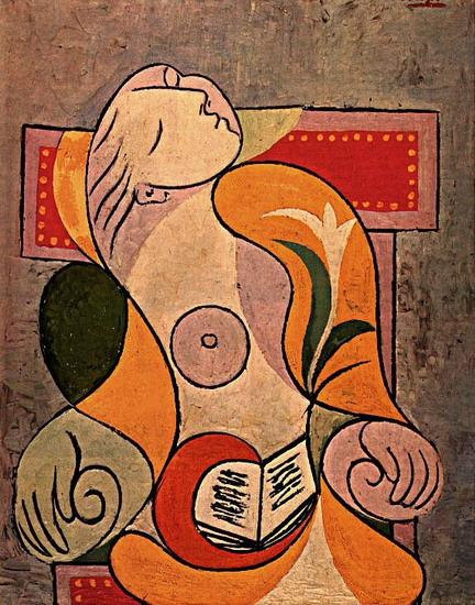 пикассо мария тереза вальтер чтение (432x550, 117Kb)