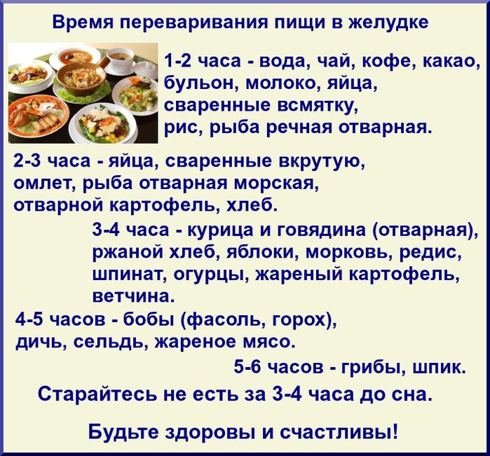 Почему долго переваривается пища 14