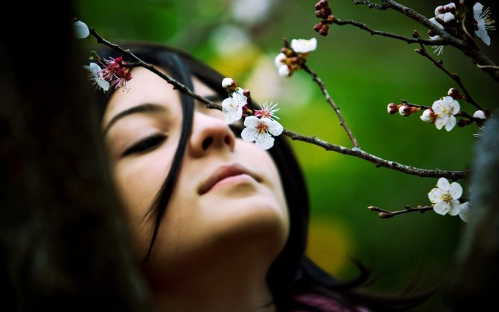 24473-women-flowers-brunette-white_flowers-twigs (700x437, 50Kb)