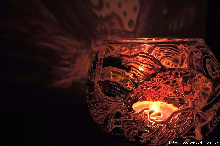 ваза подсвечник ЗОЛОТЫЕ РЫБКИ от Shraddha (13) (700x466, 260Kb)