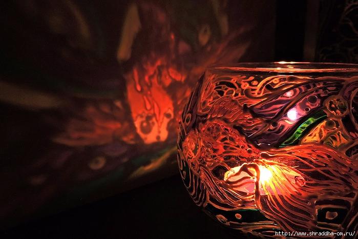 ваза подсвечник ЗОЛОТЫЕ РЫБКИ от Shraddha (15) (700x466, 273Kb)
