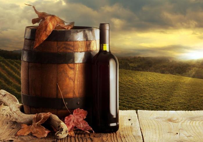 Вино. Популярнейший алкогольный напиток