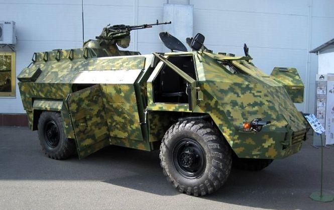 Чи українські ці бойові автомобілі?