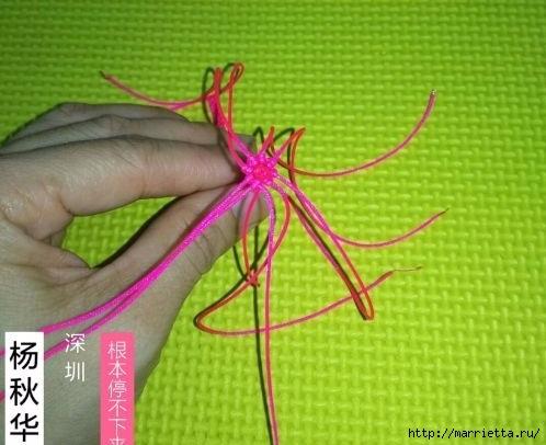 Плетение миниатюрного зонтика для куклы (2) (498x406, 116Kb)