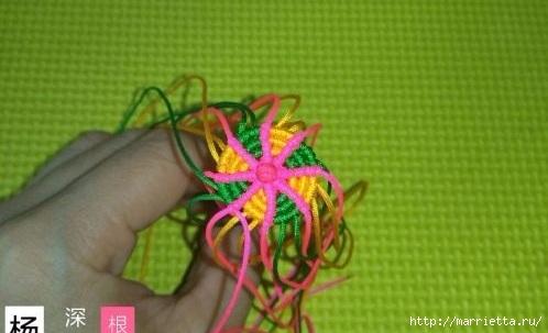 Плетение миниатюрного зонтика для куклы (4) (498x303, 82Kb)