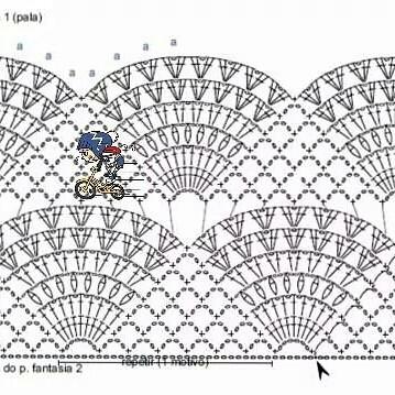 Вязание крючком. Пуловер. схема вязания/3071837_102 (359x359, 113Kb)