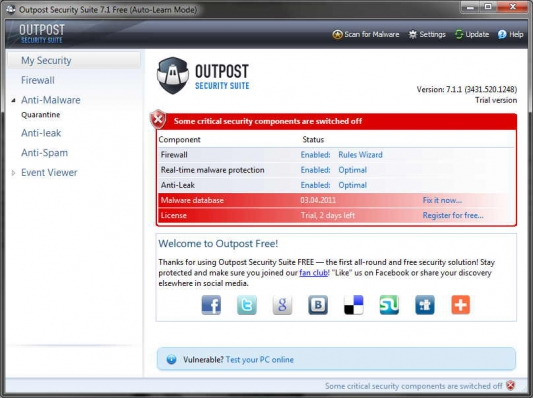 Outpost Security Suite Free 1 (533x398, 135Kb)