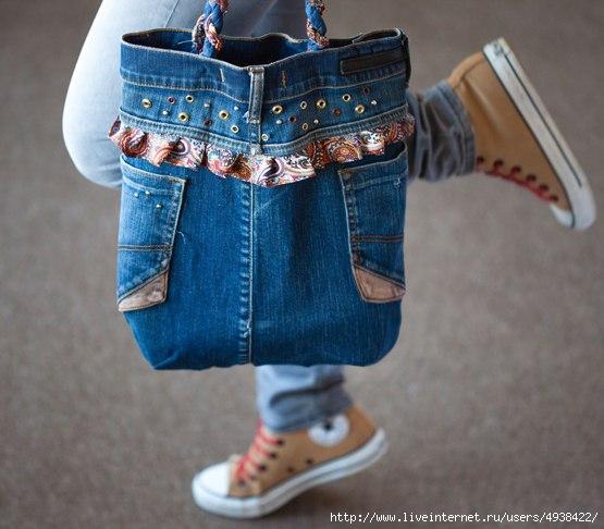 Сумки из джинса своими руками мастер