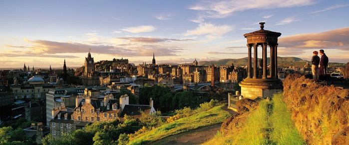 Достопримечательности-Шотландия (700x292, 270Kb)