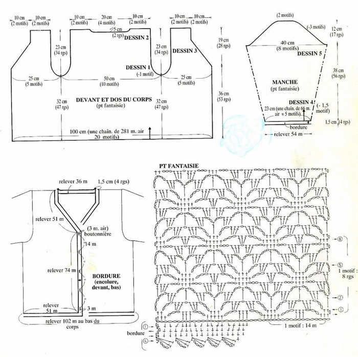 Вязание крючком. Жакет паучками со схемами вязания/3071837_212 (700x699, 282Kb)
