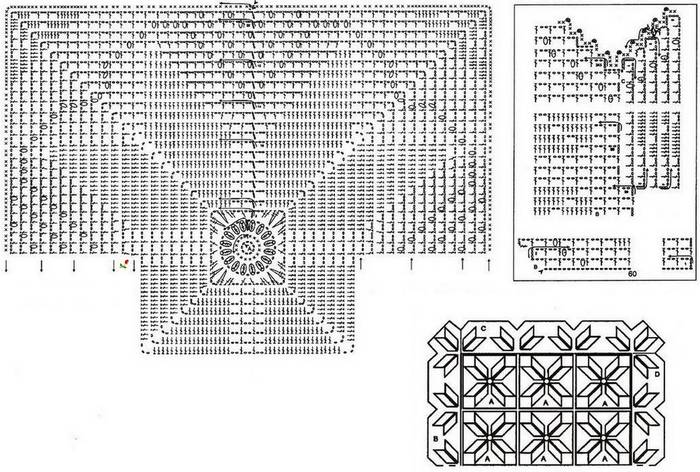 Плед из мотивов связанный крючком схема вязания крючком/3071837_272 (700x472, 97Kb)