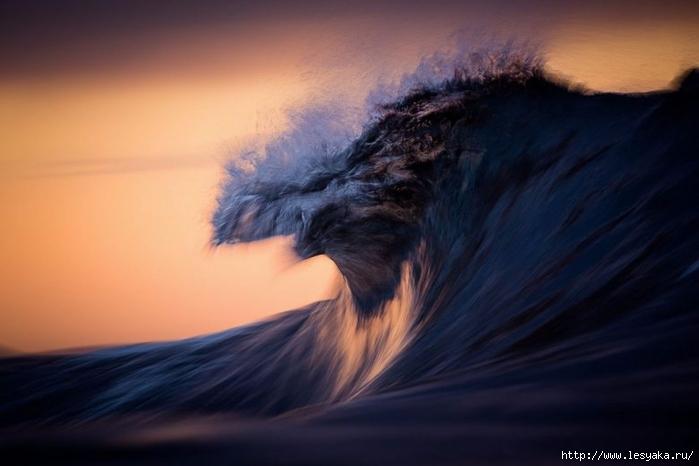 Живые морские волны на фотографиях Уоррена Килана!