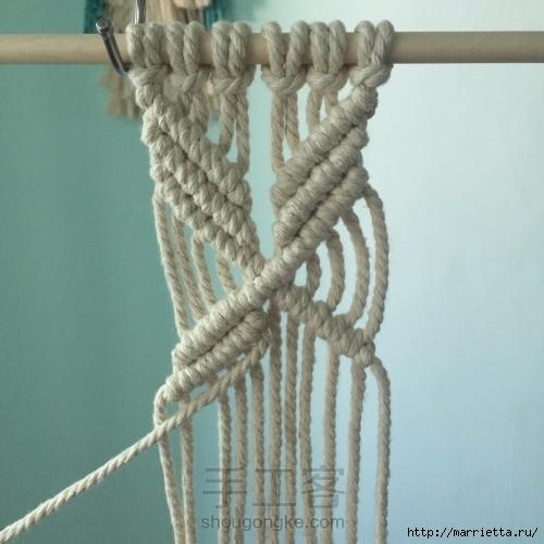 Плетение декоративного панно в технике макраме (14) (500x500, 132Kb)
