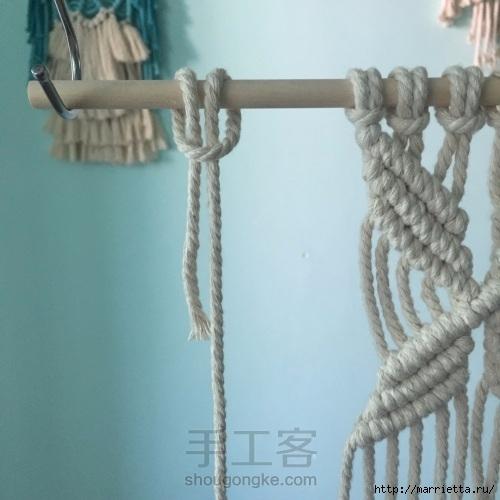 Плетение декоративного панно в технике макраме (16) (500x500, 123Kb)
