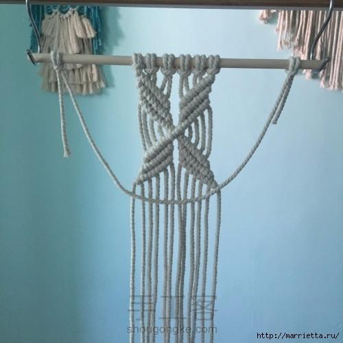 Плетение декоративного панно в технике макраме (18) (500x500, 127Kb)