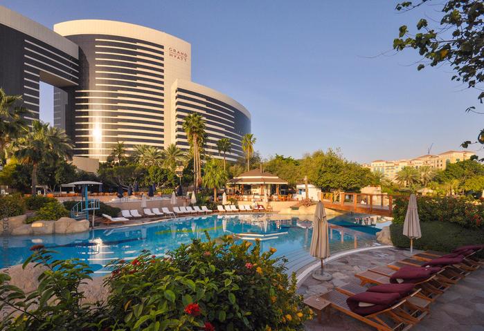 отель Гранд Хайат Дубай в дубае 1 (700x479, 552Kb)