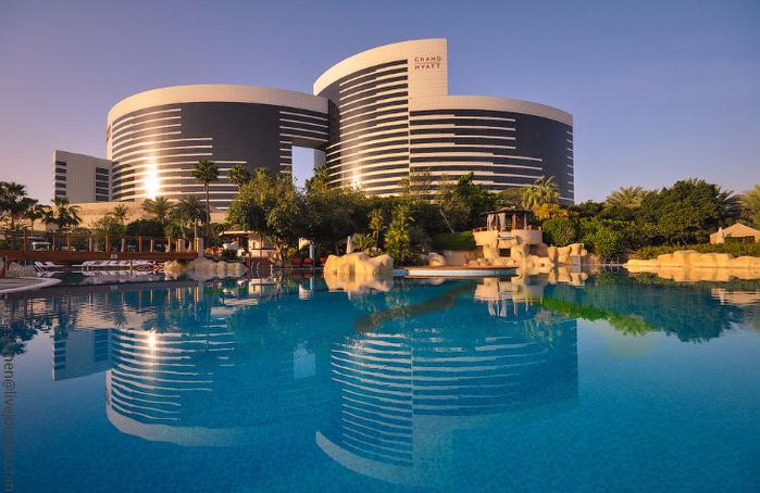 отель Гранд Хайат Дубай в дубае 3 (700x454, 420Kb)
