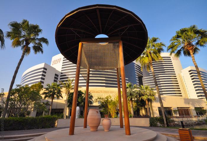 отель Гранд Хайат Дубай в дубае 4 (700x477, 533Kb)