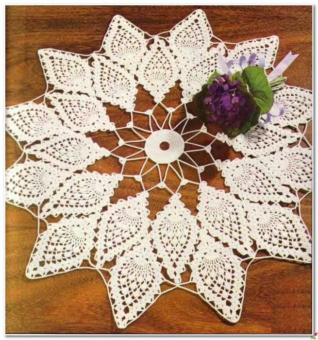 Ажурная салфетка ананасами со схемой вязания/3071837_401 (655x700, 105Kb)