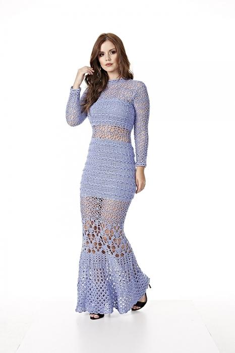 Длинное ажурное платье связанное крючком со схемами вязания/3071837_441 (466x700, 125Kb)
