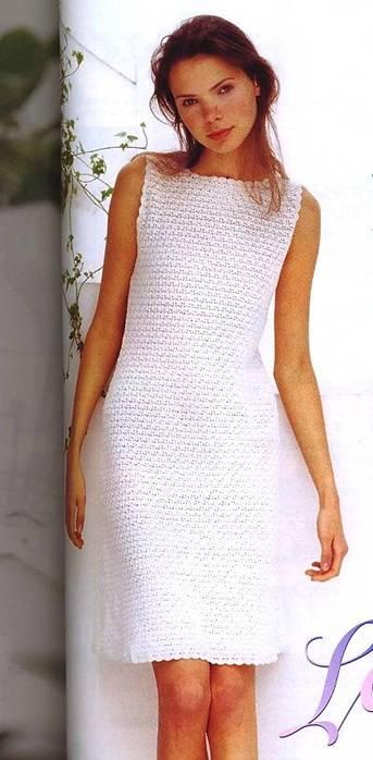 Белое платье в стиле Коко Шанель, со схемами вязания/3071837_451 (343x700, 35Kb)